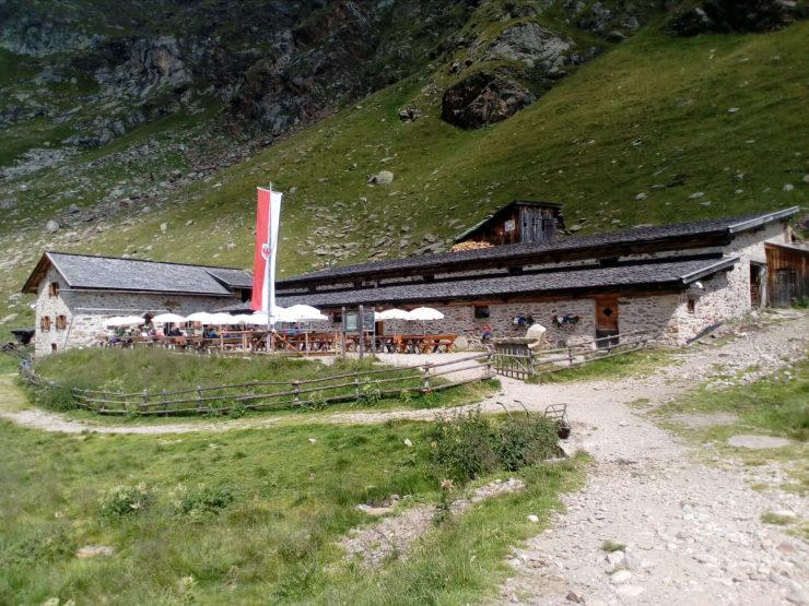 Schutzhütte Oberkaseralm - Dorf Tirol - Südtirol