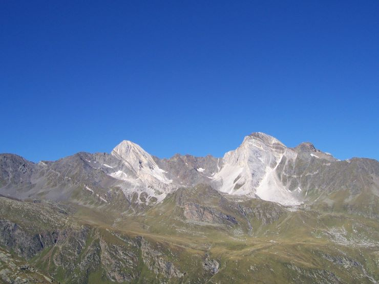 Lodner (3219m) und Hohe Weiße (3278m )