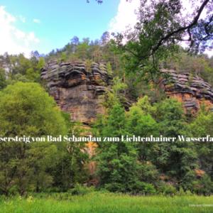 Flößersteig von Bad Schandau zum Lichtenhainer Wasserfall