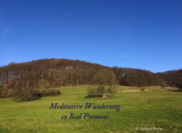 Meditative Wanderung in Bad Pyrmont